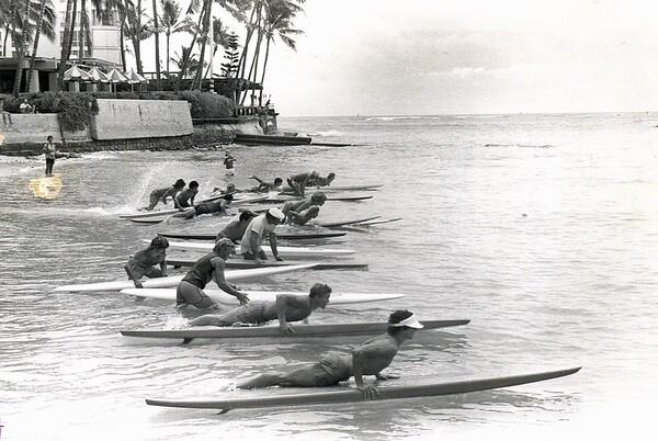 1978 Waikiki Ocean 10K Paddleboard Race