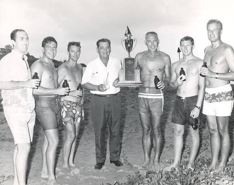1967 Kauai Yacht Club Sunifsh Race OCC won