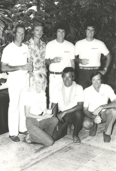 1981 Transpac Crew Libalia Too