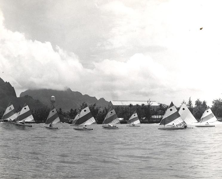 Sailfish sailng race Kauai