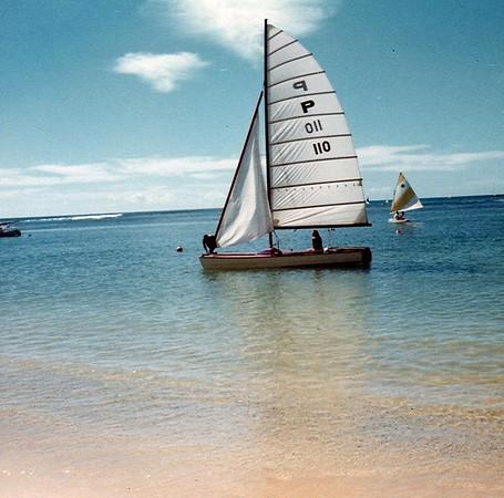 Outrigger Canoe Club Sailing 1964-1984
