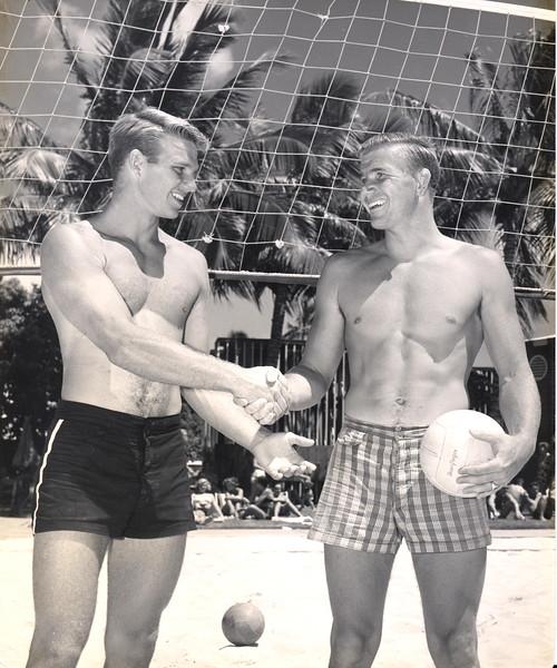 Pat Wyman and Tom Haine