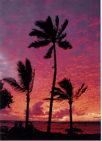2004 Outrigger Sunsets by Karen Kottow