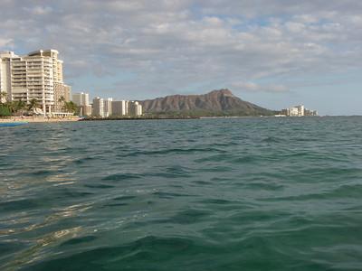 Ocean, Hotels, and Diamond Head