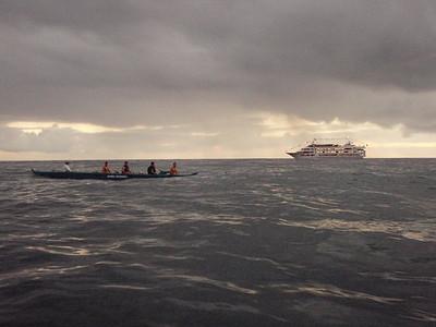 Waikiki Beach Boys Canoe and Tourist Boat