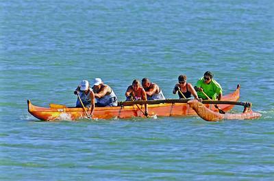 'Anuenue Canoe Club's Crew