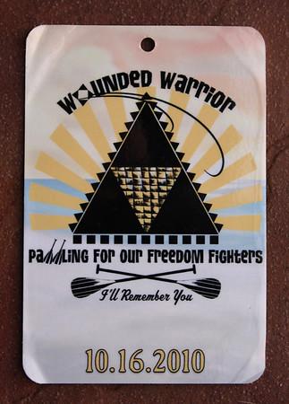Wounded Warrior Canoe Regatta