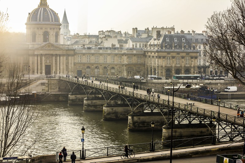 Pont des Arts, Paris - 2011