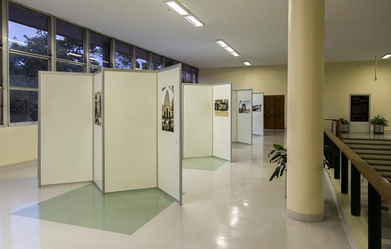 Abertura da exposição.