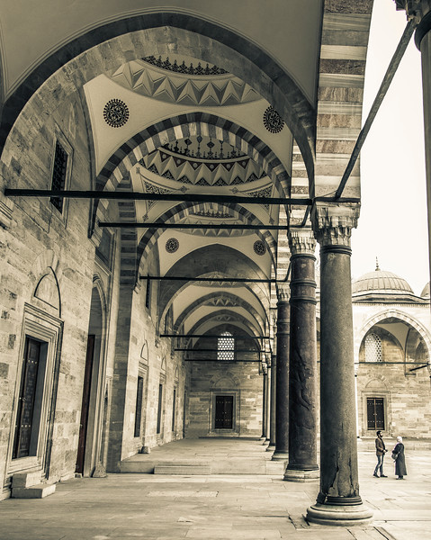 Mesquita Süleymaniye, Istambul - 2015