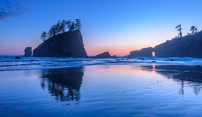 Second Beach Reflections