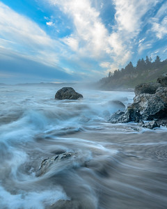 Power of the Sea at Ruby Beach