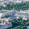 Le Grand Palais as seen from the top of La Tour Eiffel.