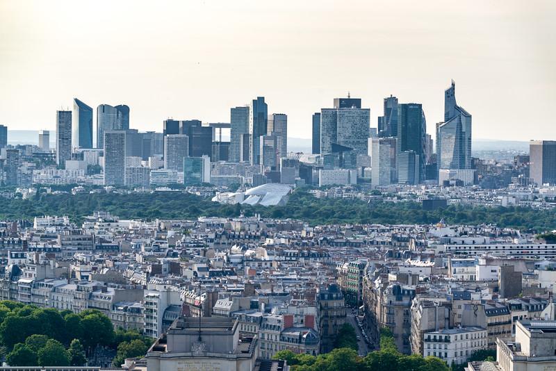 Paris' skyline.