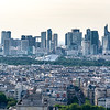 Paris' skyline.