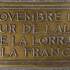 Plaque at the bottom of L'Arc de Triomphe.