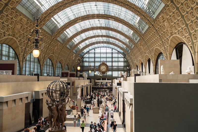 Overview of le Musée d'Orsay.