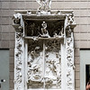 A copy of Rodin's La Porte de l'Enfer (The gates of Hell).