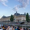 Le Musée d'Orsay from la Seine.