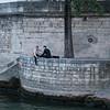 Musicians along la Seine.