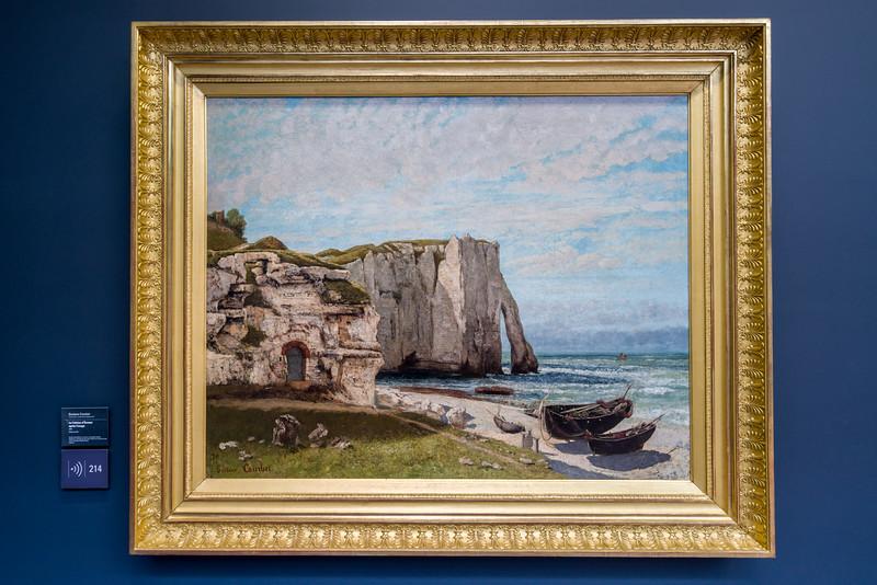 The cliffs at Étretat.