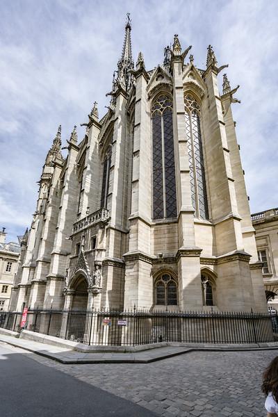 Sainte-Chapelle - Ok on the outside, amazing on the inside.