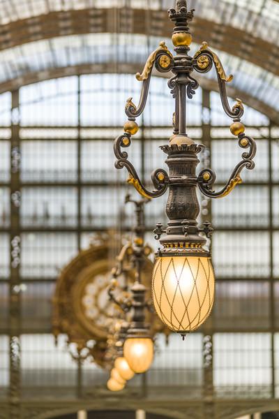 Interior lights.