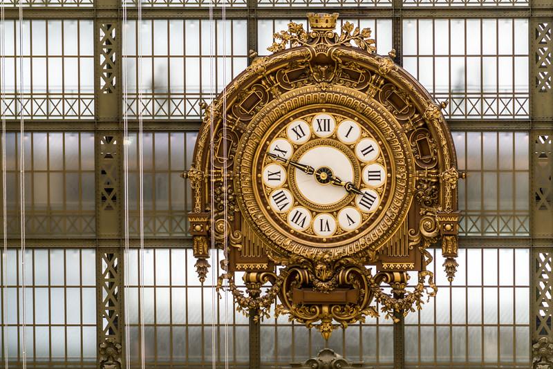 Museum clock.