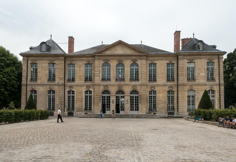 Rodin's house.
