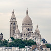 Sacré-Cœur from Galleries Lafayette rooftop.
