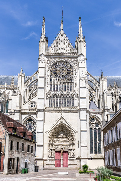 South side of the cathédrale Notre-Dame d'Amiens