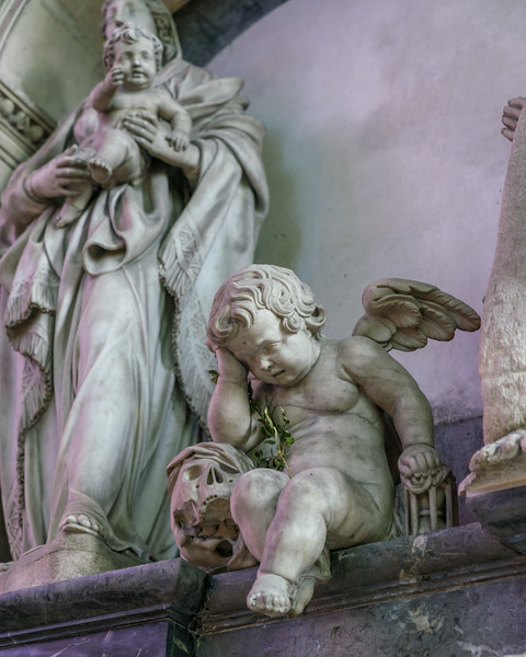 """""""Weeping Angel"""" from the 17th century."""