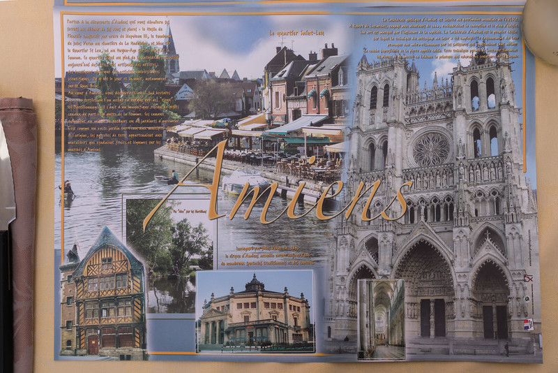 What to do in Amiens? The placemat tells you.