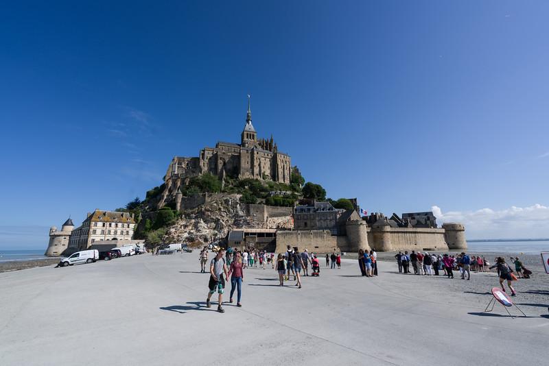 Goodbye, Mont St. Michel!