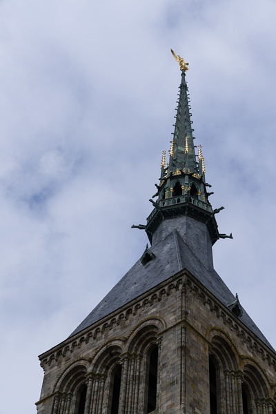 Let's get another picture of the spire.