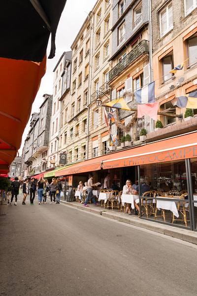 (Tourist) Restaurant row.