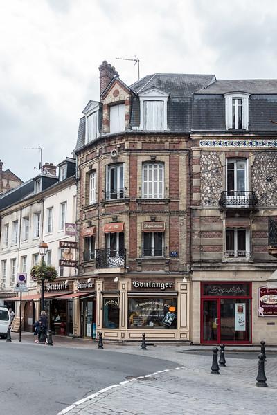 Shops in Honfleur.