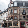 Shops in Honfleur.