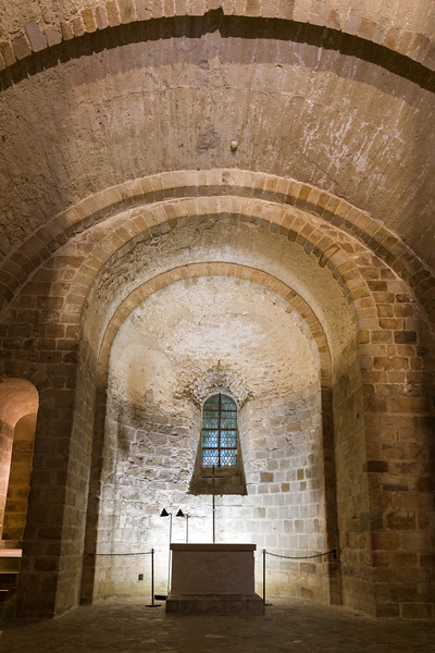 The crypt of St. Martin. (Couldn't find out much about him.)