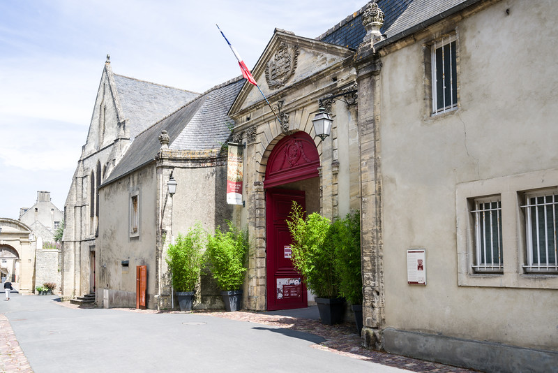 Entrance to the Bayeux Tapistry Museum.