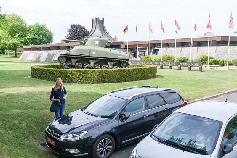 The Museum of the Battle of Normandy.