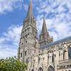 Towers of la cathèdrale de Notre-Dame de Bayeux.