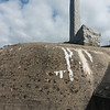 Another view of the monument and the bunker.