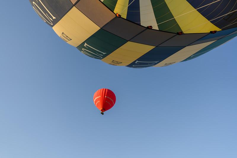Balloon overhead!