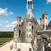 Some of the chimneys on the northeast portion of Chambord.