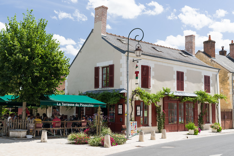 We had lunch at La Terrasse du Pinocchio (or Pinocchio's Terrace).