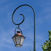 Olde fashioned street light.