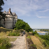 Chaumont-sur-Loire and the Loire.