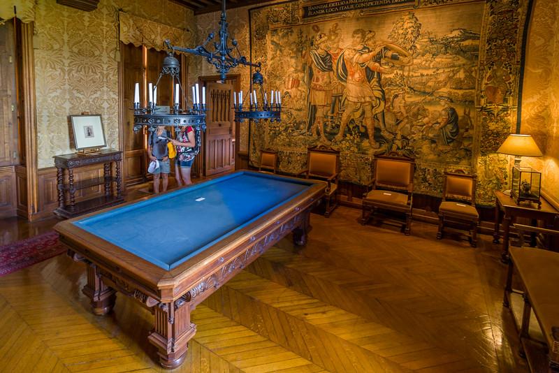 The billiards room.
