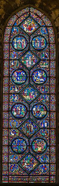 The St. Eustace window